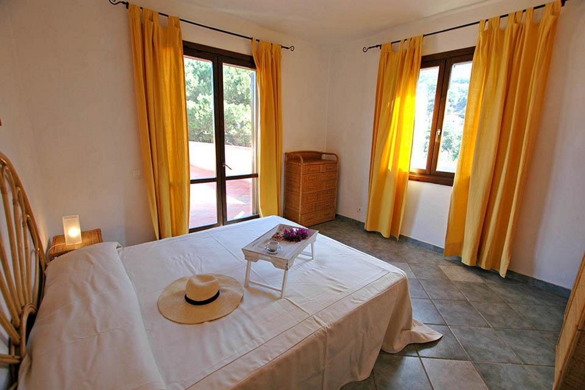 Nice apartment for 5 guests with WIFI, pool, TV, veranda, panoramic view and parking