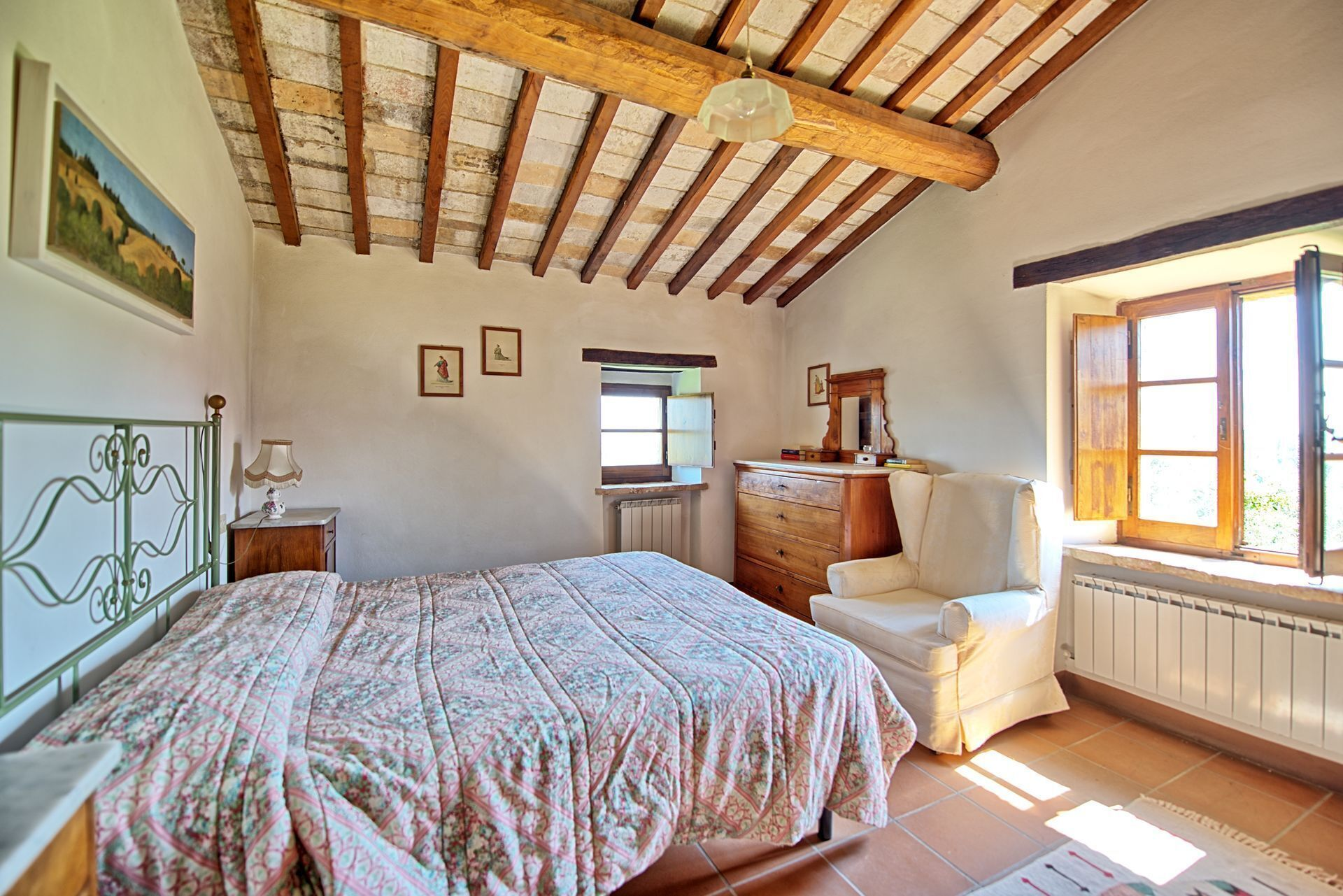 Villa Sarteano – Country Villa With Swimming Pool in Orcia Valley, Tuscany